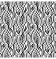 abstract decorative wave seamless pattern vector image vector image