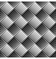 black and white geometrical star pattern vector image vector image