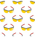 fashion sunglasses accessory sun spectacles vector image