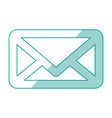message envelope draw vector image