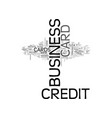 which business credit card is best for you text vector image vector image