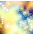 abstract defocused bokeh lights background vector image