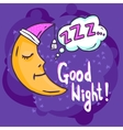 Sleep Time vector image