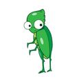 Buprestis beetle cartoon vector image vector image