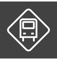 Bus Stop Sign vector image