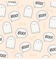 cute halloween pattern vector image vector image