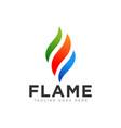 flame or fire logo design
