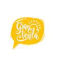 gran venta hand lettering translation vector image vector image