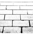 grunge paving slabs texture vector image