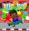 kids dancing hip hop vector image vector image