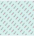 pencils school seamless pattern color vector image