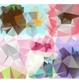 Triangle background Pattern of geometric shapes vector image vector image