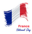 14 july france independence day background vector image vector image