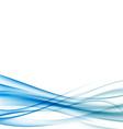 Blue wave certificate border background vector image vector image