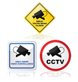 Closed circuit TV vector image vector image
