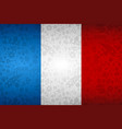 france flag background for russian soccer event vector image vector image