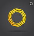 gold segmented circle
