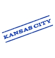 Kansas City Watermark Stamp vector image vector image