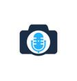 Photo podcast logo icon design