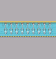 robots production conveyor automatic assembly vector image vector image