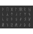 Set of geometric hipster shapes12 vector image vector image