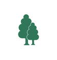 tree and forest icon vector image vector image