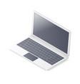 laptop isolated on white background isometric vector image
