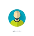 Avatar in a flat style Person Social media vector image vector image