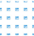 browser icon pattern seamless white background vector image vector image
