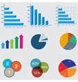 Infographic Elements business diagrams and vector image vector image
