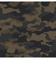 mountain seamless camouflage pattern with abstract vector image vector image