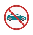 No Parking Zone vector image