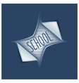 Opening school season vector image vector image