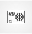 power supply icon sign symbol vector image vector image