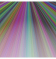 ray light background design - graphic from lines vector image vector image