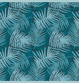 tropical turquoise decorative pattern vector image
