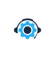 wheel podcast logo icon design vector image vector image