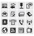 communication set vector image
