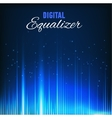Digital equalizer vector image