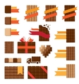 Chocolate decorative elements