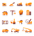 Construction and real estate icons vector | Price: 1 Credit (USD $1)