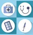 medical equipment medicine instrument healthcare vector image