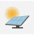 solar energy design vector image vector image