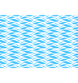 Summer seamless wave pattern isolated on blue vector image vector image