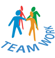 Teamwork Collaboration vector image vector image