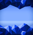 Abstract polygonal lines vector image