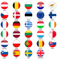 All flags of the countries of the European Union vector image