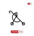 buggy icon vector image vector image