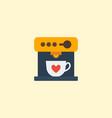 flat icon espresso dispenser element vector image vector image