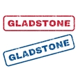 Gladstone Rubber Stamps vector image vector image